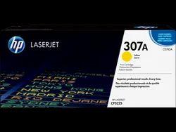 Hp 307a Yellow Original Laserjet Toner Cartridge (CE742A)