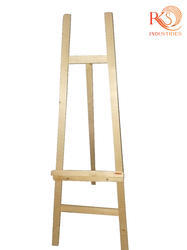 Pine wood 4 ft wooden easel