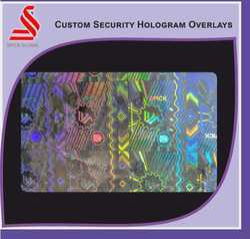 Custom Transparent Security Holograms