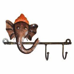 Iron Ganesha Key Hanger