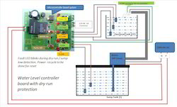 Water Level Controller Board With Dryrun Protection