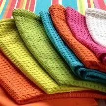 Etonnant Waffle Weave 100% Organic Cotton Yarn Dyed Fabrics Towels