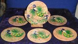 Decorative Soapstone Handicraft Coasters