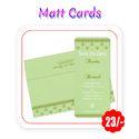Multi Colors - Wedding Cards(Matt - A5 Size/ 300 gsm)