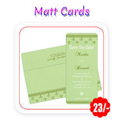 Multi Colors - Wedding Cards(Matt - A5 Size/ 300 gsm)