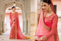 Ladies Silk Wedding Wear Saree