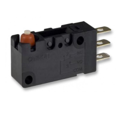 Microswitch Spdt Short Lever Wire