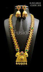 South India Jewellery Style Wedding Necklace Set
