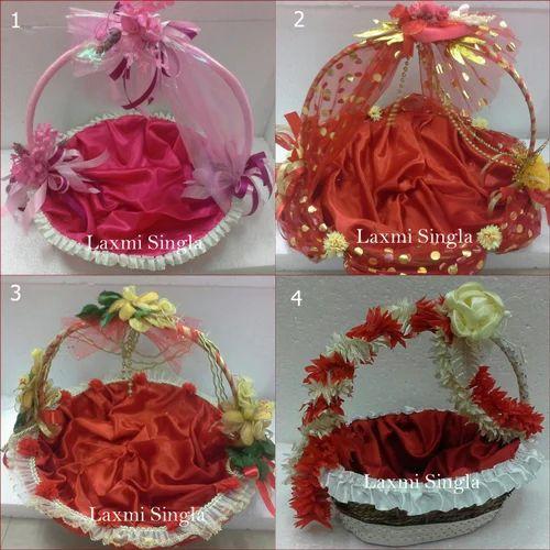 Decorative wedding basket designer baskets manufacturer from delhi junglespirit Gallery
