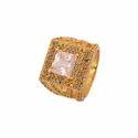 American Diamond Stone Mens Fashion Ring