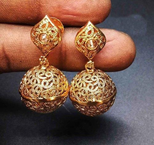 Traditional Earring Silver Jhumka Hoop Earrings For Women Exporter From Mumbai