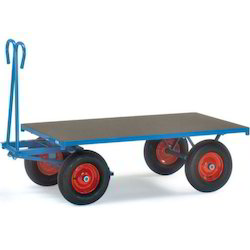 Platform Trolley on 4 Wheels
