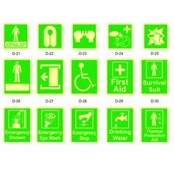 Emergency Safety Signages