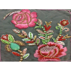 Embroidery Resham Stone Work