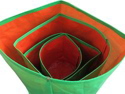 """24"""" X 24"""" HDPE 200gsm Green Grow Bags"""