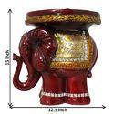 Animal Figured Decorative Corner Tables Pillar Stand