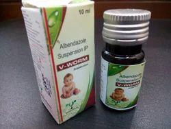Albendazole  200 mg susp
