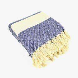 Hand Woven Cotton Throw