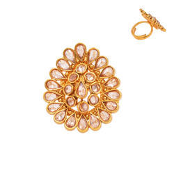 Antique Classic Finger Ring With Quality - 14374