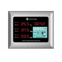Clean Room Indicator - Temp.   RH   DP   Time