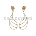 Gold Designer Earrings