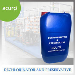 Dechlorinator and Preservative