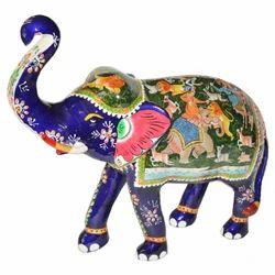 Meena Painted Shikar Elephant
