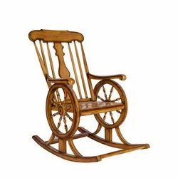 Wooden Chair Rocking Wooden Chair Manufacturer From New Delhi
