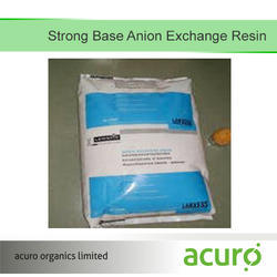Strong Base Anion Exchange Resin