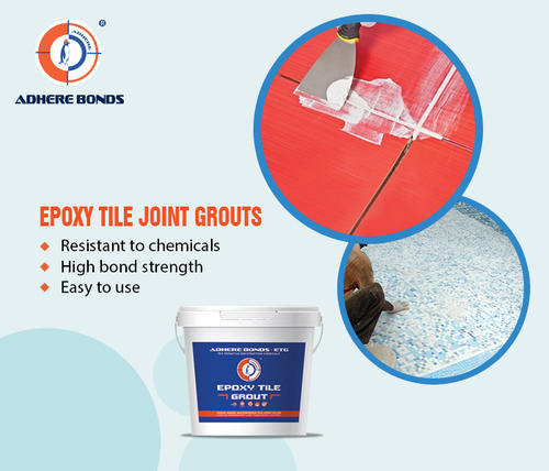 Epoxy Tile Grout Adhere Bonds