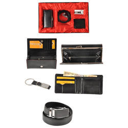 Gents  Wallet Card Holder Belt Tie Cuffling Box