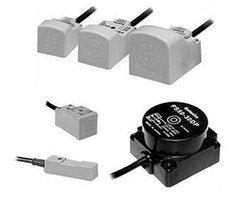 Rectangular Inductive Proximity Sensors with Various Sizes
