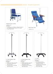 IV Stand & Attender Bed