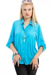 Ladies Sky Blue Top