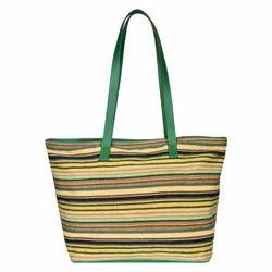 Multi Stripe Tote Bag