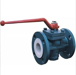 MS PTFE Lined Ball Valves