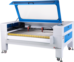 Textile Label Laser Cutting Machine