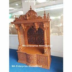 Wooden Temples Handcarved Wooden Pooja Mandir