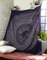 Large Printed Cotton Gypsy Mandala Wall Tapestries