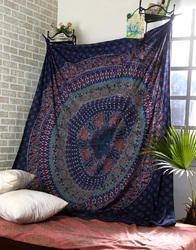 Large Printed Cotton Gypsy Mandala Wall Tapestries