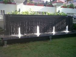 Outdoor Nozzle Fountains
