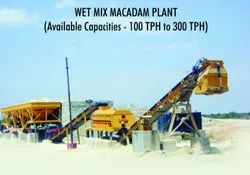 Stationary Wet Mix Macadam Plant