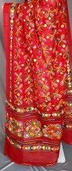 Aari Work Dupatta / Full Embroidered Cotton Dupatta / Banjara Dupatta