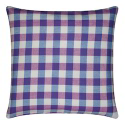 Dobby Check Cushion