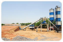 Mobile Ready Mix Concrete Batching Plant