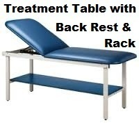 Treatment Table with Backrest