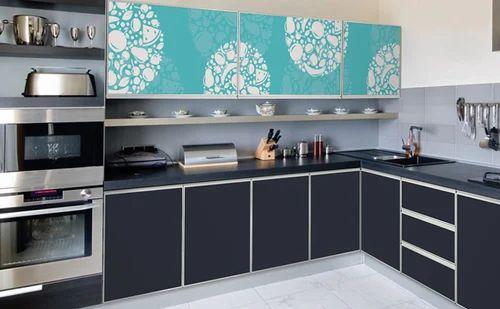 Aluminium Modular Furniture Sections - Aluminium Kitchen Cabinet ...