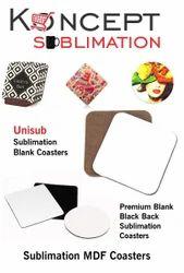Sublimation Coasters  - Sublimation Blank MDF Coasters