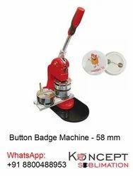 Button Badge Machine 58 mm