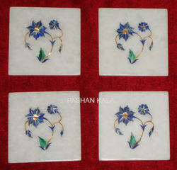 Stone Marble Handmade Coasters